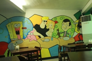 Johnny Bravo, Mr. Bean and my favorite Spongebob