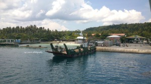 The ferry that will take you to Samal.