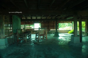 inside the house. Broken furnitures due to poor maintenance.
