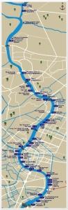 Chao Phraya River Map