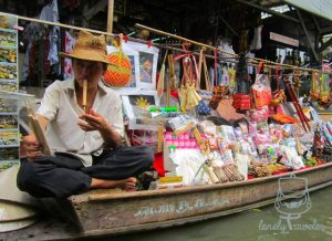 a vendor and his merchandise
