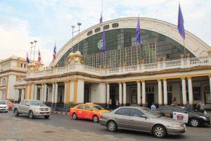 Hua Lamphong station just right beside Hua Lamphong MRT Station