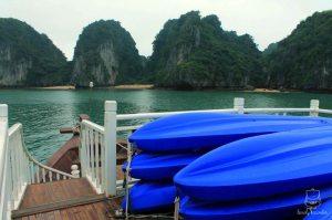 three small beaches and kayaks